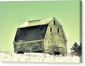 Monster Barn Canvas Print by William Tasker