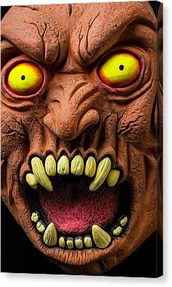 Monster Mask Canvas Print