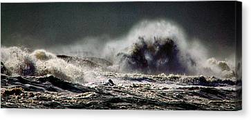 Monster Of The Seas Canvas Print