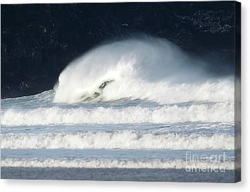 Canvas Print featuring the photograph Monster Wave by Nicholas Burningham