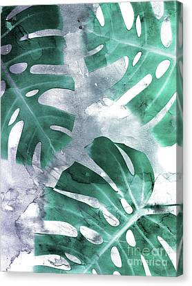 Monstera Theme 1 Canvas Print