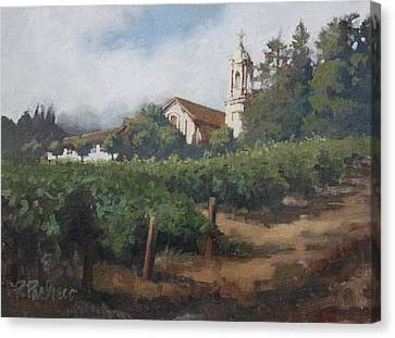 Mont La Salle Canvas Print by Rita Pacheco