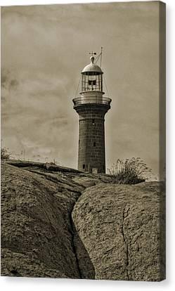 Montague Island Lighthouse - Nsw - Australia Canvas Print