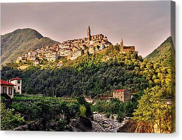 Montalto Ligure - Italy Canvas Print by Juergen Weiss