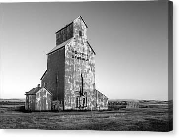 Ruin Canvas Print - Montana Elevator Company by Todd Klassy