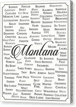 Montana Canvas Print by Finlay McNevin