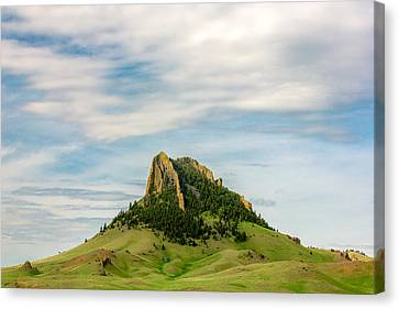 Montana Matterhorn Canvas Print by Todd Klassy