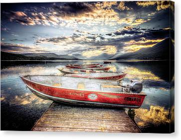 Montana Outboard Canvas Print