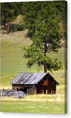 Montana Ranch 2 Canvas Print by Marty Koch