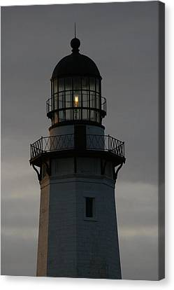 Montauk Lighthouse At Dawn Canvas Print by Christopher Kirby