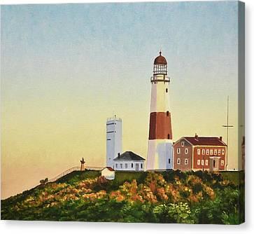 Montauk Lighthouse Canvas Print by Dmitriy Shvets