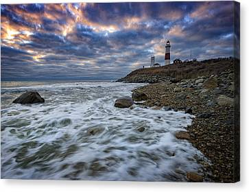 Montauk Morning Canvas Print by Rick Berk