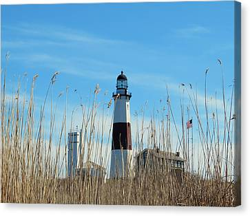 Montauk Point Lighthouse-3 Canvas Print
