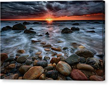 Montauk Storm Clouds Canvas Print by Rick Berk