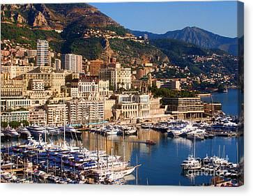 Monte Carlo Canvas Print by Tom Prendergast