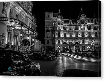 Montecarlo Nights Canvas Print