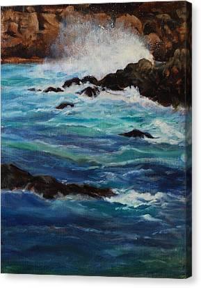 Monterey Wave #2 Canvas Print