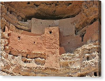 Montezuma Castle - Special In It's Own Way Canvas Print by Christine Till