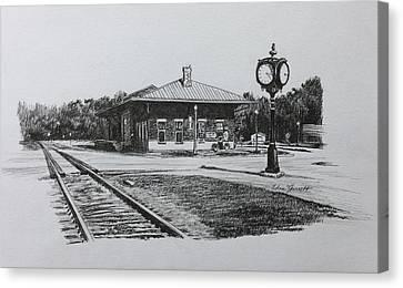 Montezuma Depot Canvas Print