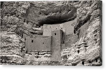 Montezuma's Castle Canvas Print by Joseph Smith