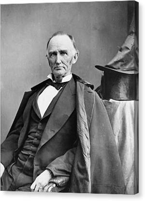 Montgomery Blair 1813-1883 Was Among Canvas Print by Everett