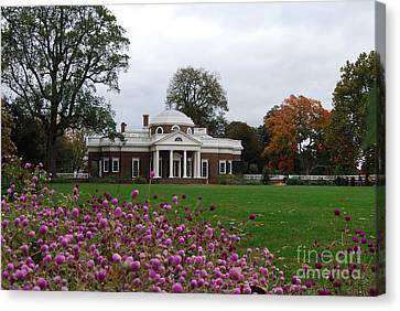 Monticello Canvas Print by Eric Liller