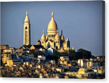 Montmartre Canvas Print by Alessandro Giorgi Art Photography