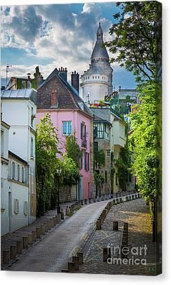 Montmartre Hill Canvas Print