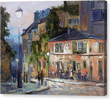 Canvas Print - Montmartre, Paris by Irek Szelag