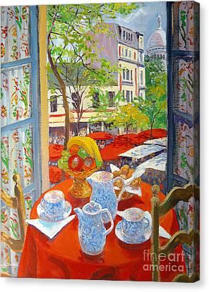 Montmartre Canvas Print by William Ireland