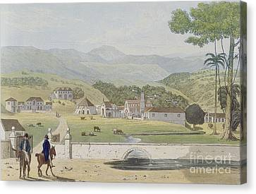 Montpelier Estates - St James Canvas Print by James Hakewill