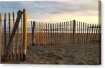 Montpellier France Beach  Canvas Print by Beryllium Photography