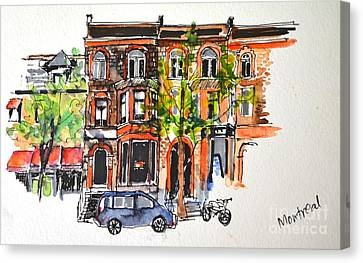 Montreal 1 Canvas Print