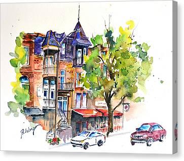 Montreal - 2 Canvas Print