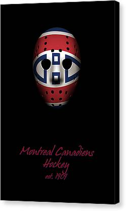 Montreal Canadiens Established Canvas Print by Joe Hamilton