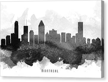 Montreal Cityscape 11 Canvas Print