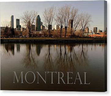 Montreal Canvas Print by Robert Knight