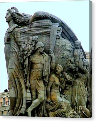 Monument Aux Morts 6 Canvas Print