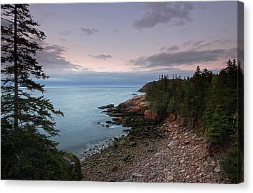 Monument Cove Maine Acadia National Park Canvas Print by Juergen Roth