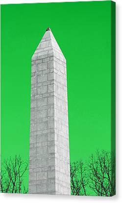 Monument Green Canvas Print by Tina B Hamilton