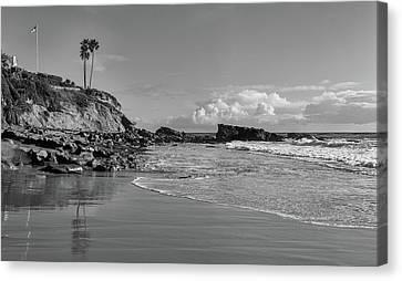Canvas Print featuring the photograph Monument Point Laguna Beach by Cliff Wassmann