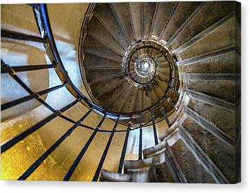 Monument Stairs Canvas Print by Jae Mishra
