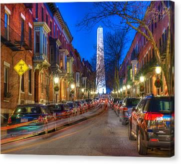 Monument Street Charlestown 023 Canvas Print