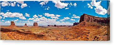 Monument Valley - The Large One Canvas Print by Andreas Freund