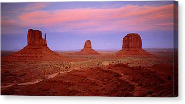 Monument Valley Azut Usa Canvas Print
