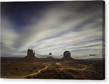 Monument Valley Canvas Print by Bill Cantey