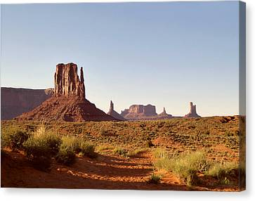 Monument Valley Calm Canvas Print by Gordon Beck