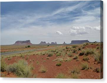 Monument Valley Horizon Canvas Print by Gordon Beck