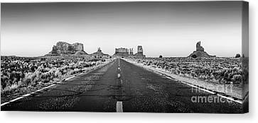 Freedom Bw Canvas Print by Az Jackson