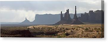 Monument Valley Canvas Print by Mike Irwin